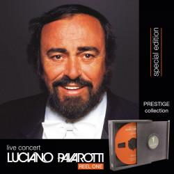 LUCIANO PAVAROTTI live concert -Hemiolia Special Edition