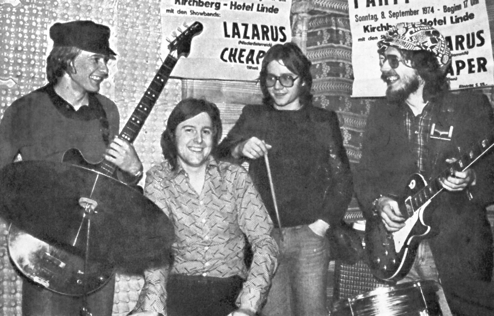 Lazarus – Demos & Live 1975 (Purple Vinyl)
