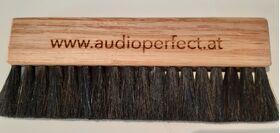 audioperfect - Ziegenhaarbürste - Reinigung Vinyl