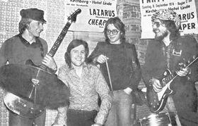 Lazarus – Demos & Live 1975 ( (Artist's Edition, Black Vinyl, White Label)