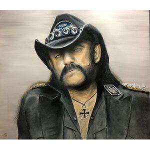 Art: Lemmy Kilmister - Ölgemälde