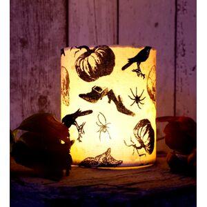 """""""Smashing Pumpkins"""" - Halloween Windlicht"""